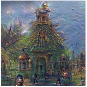 dreaming neural network image