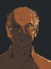 Daniel Kahneman, by Pat Kinsella (detail)